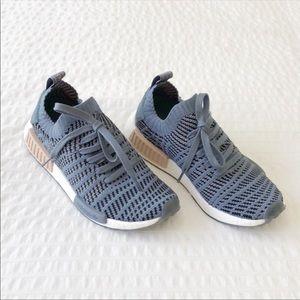 Adidas NMD Primeknit Pearl Ash Blue Size 7